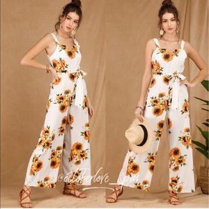 Sunflower jumpsuits.